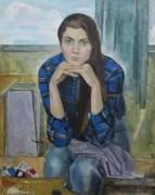 «Портрет художницы» <br/> х/м 80х60см